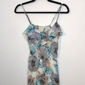 Everly maxi floral dress